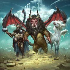 Mythological Beasts - Ultimate Expeditions series., Grant Griffin on ArtStation at https://www.artstation.com/artwork/QDa9B