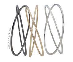 Threes Company bracelet set