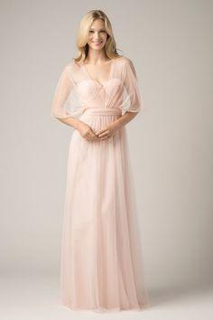 Bobbinet Infinity Dress- wear 10 different ways. Wtoo Maids Dress 852