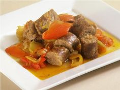 recipe image SAUSAGE AND PEPPERS YUM