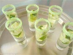 mojito tequila shots