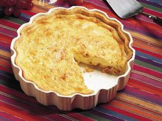 My favorite quiche recipe. Vary the cheese and veggies to what you have on hand.