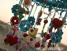cinzia handmade: Un pendaglio crochettoso
