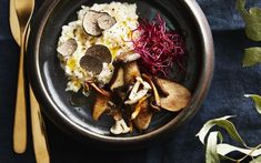 Acai Bowl, Risotto, Food Porn, Eat, Cooking, Breakfast, Ethnic Recipes, Diner Ideas, Happy