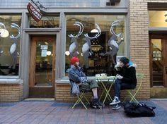 Comet coffee in Ann Arbor, Michigan