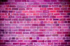 Brick Wall Background, Neon Signs