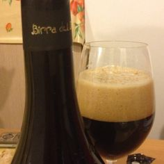 Perle ai Porci by Birra del Borgo, from Italy. Oyster Stout craftbeer.