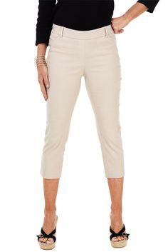 Skinny Comfort Crop Pant