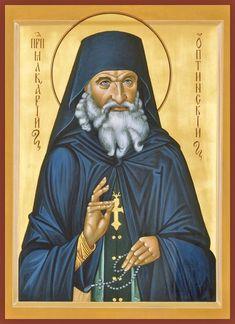St. Makary of Optina Russian Orthodox icon