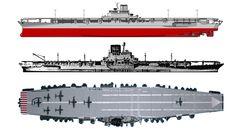IJN aircraft carrier Shinano 航空母艦-信濃