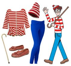 Where's Waldo!? So cute! Tuesday Ten: Halloween Costume Ideas by @LaurenConrad #ILoveHalloween