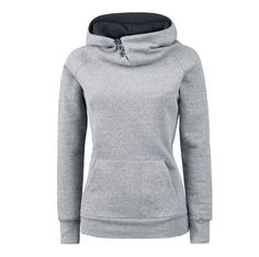 2017 Women Fashion Casual Solid Hoodies Turtleneck Hooded Sweatshirts Pullovers Female Long Sleeve Hoodies Pullover Plus Size