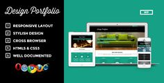 Design Portfolio - Responsive WordPress Theme