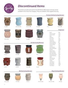 Discontinued Scentsy fall 2012 - available through August only, while supplies last