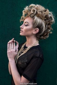 Faux hawk big sexy hair faux hawk big sexy hair easy braided hairstyles for spring 2017 Up Hairstyles, Braided Hairstyles, Wedding Hairstyles, Faux Hawk Hairstyles, Funky Hairstyles For Long Hair, Hairstyles Pictures, Creative Hairstyles, Hair Colorful, Pinterest Hair