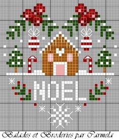 Thrilling Designing Your Own Cross Stitch Embroidery Patterns Ideas. Exhilarating Designing Your Own Cross Stitch Embroidery Patterns Ideas. Xmas Cross Stitch, Cross Stitch Heart, Cross Stitch Cards, Cross Stitching, Cross Stitch Embroidery, Embroidery Patterns, Christmas Cross Stitch Patterns, Hand Embroidery, Le Blog De Vava
