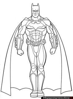Dibujos de Batman para Imprimir y Colorear