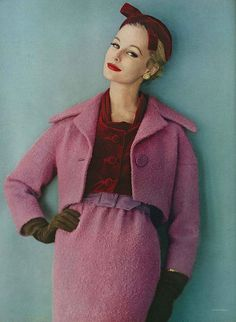 Monique Chevalier, November Vogue 1958