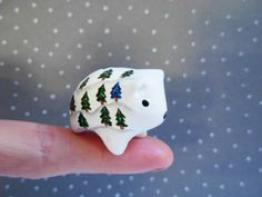 This little polar bear makes a sweet stocking stuffer gift!