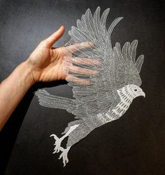 Stunning Delicate Cut Paper Illustrations by Maude White - you can find her creations on Etsy.com (CULTURE N LIFESTYLE magazine)