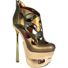 John Galliano - Женская обувь | Sur la terre ❤ liked on Polyvore