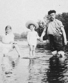 "Tsar Nicholas II of Russia at the beach with his son,Tsaraevich Alexei Nikolaevich Romanov of Russia and his second youngest daughter,Grand Duchess Maria Nikolaevna Romanova of Russia. ""AL"""