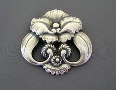 Brooch | Georg Jensen.  1945.  Sterling Silver