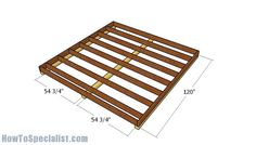 This step by step diy woodworking project is about shed plans. If you are a homeowner like me, you probably know how tough it is to organize all the tools, bicycles, skis and all other small toys we all want and have. Woodworking Guide, Woodworking Projects Diy, Wood Projects, Woodworking Equipment, Woodworking Furniture, Diy Storage Shed Plans, Storage Sheds, Wood Storage, 10x10 Shed Plans