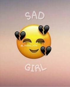 Cute Blue Wallpaper, Black Aesthetic Wallpaper, Sad Wallpaper, Aesthetic Iphone Wallpaper, Emoji Wallpaper Iphone, Cute Emoji Wallpaper, Black Phone Wallpaper, Broken Heart Drawings, Broken Heart Art