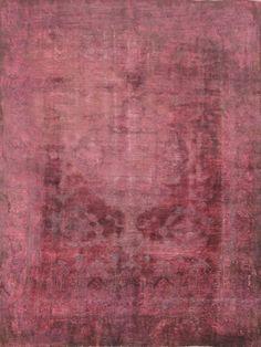 Orientteppich Patchwork Vintage modern Handgeknüpft  carpet perser 318 x 242