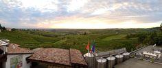 L'alba in agosto vista da Montecucco (PC)
