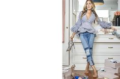 Cover Story | Sarah Jessica Parker on shoes, SATC regrets and her love of New York | Magazine | NET-A-PORTER.COM Shoes 2016, Sarah Jessica Parker, Mode Style, Timeless Fashion, On Shoes, Blue Jeans, Cover, Love Her, Regrets
