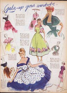 1949 dresses