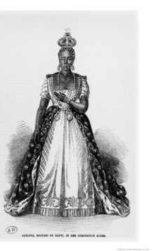 Adélina Soulouque (b. c. 1795), née Lévêque, was Empress Consort of Haiti from 1849 until 1859, as wife of Faustin I of Haiti.