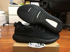 For Sale: Adidas yeezy boost 350 Pirate Black All of products are authentic ! Yeezy Boost, Adidas Sneakers, Ebay, Black, Shoes, Zapatos, Black People, Shoes Outlet, Shoe