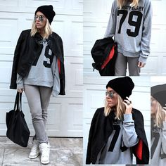 MORE SHADES OF GREY (by Dena T) http://lookbook.nu/look/4410563-MORE-SHADES-OF-GREY
