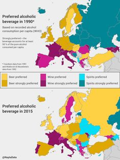 🇦🇺 Alcohol in europe. 🇩🇪 Alkohol in Europa. European Map, European Countries, Map Diagram, Alcoholic Drinks, Beverages, Stop Drinking, Bar Graphs, Wine Recipes, At Least