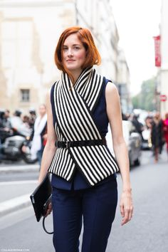 Taylor Tomasi Hill. I too, love a belted scarf!