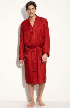 Majestic+International+Herringbone+Stripe+Silk+Robe+available+at+ . Men s  RobesStripes ... cd305db86