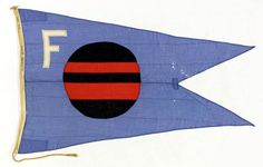 House flag, Furness Withy & Co. Ltd - National Maritime Museum My ancestors are the original owners Anti Flag, Nautical Flags, Nautical Knots, Blue Peter, Vintage Flag, Art And Craft Design, Maritime Museum, House Flags, Pattern And Decoration