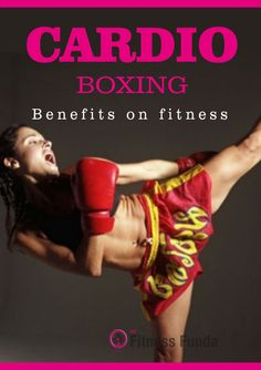 It has been accepted and recommended by Sports researchers that cardio-boxing is among the best exercise or workout form, on the grounds that it conditions whole body. It is capable of giving a complete workout Exercise Cardio, Cardio Boxing, Cardio Fitness, Cardio Workouts, Workout Tips, Workout Plans, Fitness Tips, Boxing Benefits, How To Slim Down