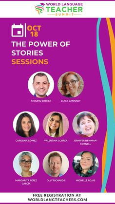 Professional development for World Language Teachers teachers you do not want to miss the week of October 18th. Join the World Language Teacher Summit for access to presentations and resources from many World Language teachers including Mis Classes Locas.