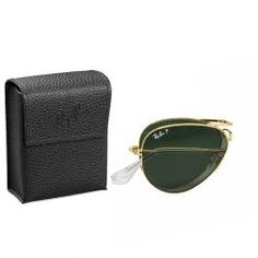 These gold Ray-Ban polarized sunglasses will protect your eyes in style. The polarized lenses are highlighted by the gold frame, adding a unique touch to this classic style. These sunglasses feature a foldable frame and 100 percent UV protection.http://www.overstock.com/Clothing-Shoes/Ray-Ban-Unisex-RB3479-Foldable-Aviator-001-58-Gold-Metal-Polarized-Sunglasses/7009289/product.html?CID=214117 $168.99