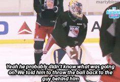 lol Goalie problems
