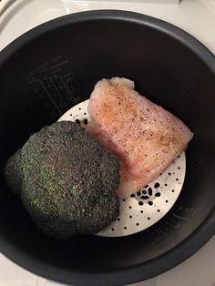 Den Broccoli dazulegen.