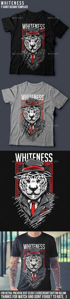 Whiteness T-Shirt Design. Download here: http://graphicriver.net/item/whiteness-tshirt-design/16417764?ref=ksioks