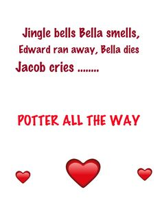 Twilight Humor.........I support both novels but harry potter is better