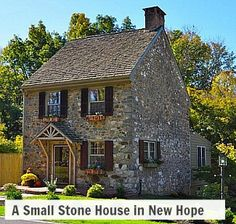 Small stone house for sale in New Hope PA