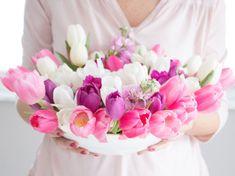 DIY-Anleitung: Frühlingshaftes Blumengesteck selber machen via DaWanda.com