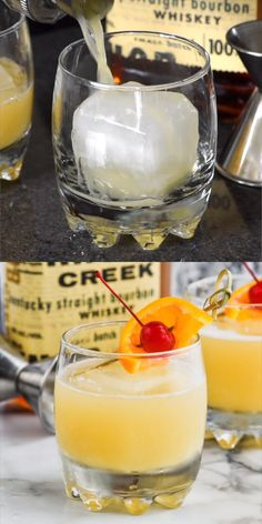 If you've never had a Whiskey Sour, make this your next drink! It's so delicious… If you've never had a Whiskey Sour, make this your next drink! It's so delicious! Cocktails Whiskey Sour Best Picture For honey Whiskey drink For Your Taste You are loo Tequila Drinks, Liquor Drinks, Bourbon Cocktails, Alcoholic Drinks, Simple Whiskey Cocktails, Irish Whiskey Drinks, Cointreau Drinks, Flavored Vodka Drinks, Amaretto Drinks